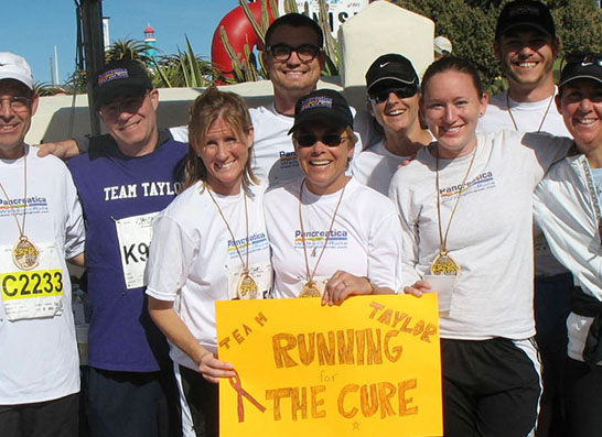 Help fight pancreatic cancer
